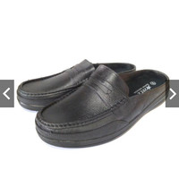 Sepatu Sandal Karet Formal Pria Kerja dan Santai Merk ATT 550