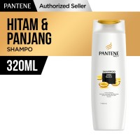 Pantene Shampoo Long Black 320ml