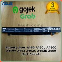 Baterai Batre Original Asus A450L A450LA A450LB A450LC A41-X550A