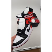 NIKE AIR JORDAN 1 - Satin wmns black toe (PK GOD)