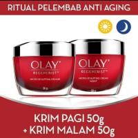 Olay Set Regenerist Micro Sculpting Anti Aging Day & Night Cream 50 gr