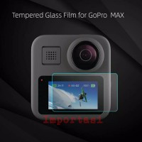 Tempered Glass Gopro Hero Max 360 Fusion 2 Screen Protector Action Cam