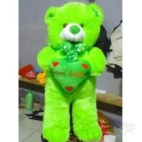 BONEKA TEDDY BEAR 1 METER FREE NAMA