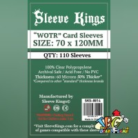 Sleeve Kings WOTR-Tarot Card Sleeves 70x120 mm -110 Pack, 60 Microns