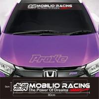 Cutting sticker Mobil Stiker MOBILIO RACING Terkeren dan Termurah