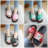 SLIP SANDAL WELCOME HOME (pake dus)