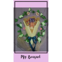 Buket bucket bouquet snack hadiah kado wisuda anniversary birthday