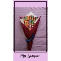 Bouquet buket bucket snack hadiah kado wisuda anniversary birthday