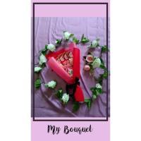 Buket bouquet bucket hadiah kado anniversary wisuda birthday