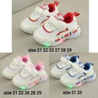 sepatu import led for kids