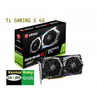 VGA CARD MSI NVIDIA® GeForce® GTX 1660 Ti GAMING X 6G ORIGINAL