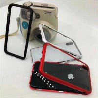 Premium 2in1 Case Magnetic Glass Transparant For Type Iphone X