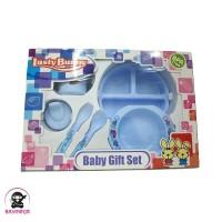 LUSTY BUNNY Baby Feeding Gift Set Alat Makan Bayi isi 6 - LB 1850