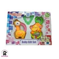 LUSTY BUNNY Baby Gift Set Mainan Anak isi 3 - LB 1408