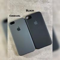 Soft Case Black Silicone Full Cover Iphone 6 6plus 6s 7 7plus 8 - BLACK, IPHONE 6 6S