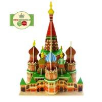Mini Puzzle 3D | SAINT BASILS | Puzzle Bentuk Istana - 1690-12