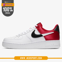 Sepatu Sneakers Nike Air Force 1 NBA Low University Red Original BQ442