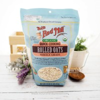 Bob s Red Mill Organic Quick Cooking Rolled Oats 453 g