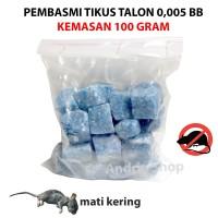 Racun Tikus Talon 0.005 BB Solusi Basmi Secara Masal Kemasan 100 gram