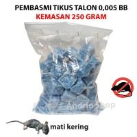 Racun Tikus Talon 0.005 BB Solusi Basmi Secara Masal Kemasan 250 gram