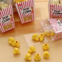 Penghapus Bentuk Popcorn Lucu Unik lmut - Souvenir Stationery Unik