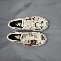 Sepatu Vans Slip On Newspaper x Ashley William Premium BNIB