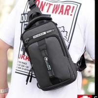 Sling Bag Waterproof / Tas Selempang Pria / Tas Selempang Multifungsi