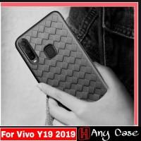 Soft Case Vivo Y19 2019 Casing Premium Edition Cover Vivo Y 19 2019 - Biru