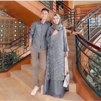 PELINO COUPLE BEST SELLER - Gamis Sarimbit - Kemeja Pasangan