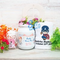 Hampers one month / souvenir baby born