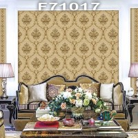 Wallpaper Dinding Classic Damask MANSION F71015 - F71018