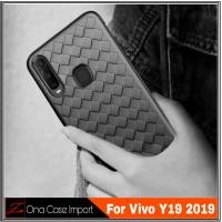 Soft Case Vivo Y19 Casing Premium Edition Cover Vivo Y 19 2019 - Biru