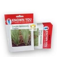 benih bibit daun bawang fragrant know you seed - kys