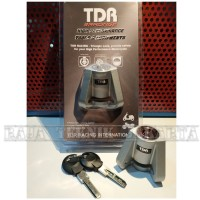 Kunci Gembok Cakram Pengaman Motor TDR/ Triangle Disc Lock ORIGINAL