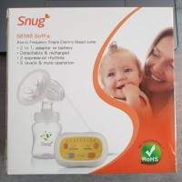 Single Electric Breast Pump / Pompa Asi Elektrik Snug S838S Soffie