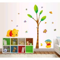 Stiker Dinding / Kaca / Wall Sticker (Winnie the Pooh Dewasa & Kecil)