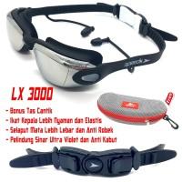 Kacamata Renang Minus 2.0 - 8.0 Olahraga Dewasa Swimming Googles