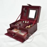 Kotak Tempat Perhiasan / Box Aksesoris Cincin, Gelang & Kalung Croco