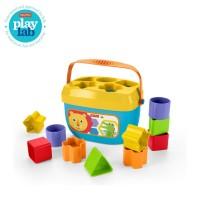 Fisher Price Baby's First Blocks Mainan Balok Permainan Anak Bayi