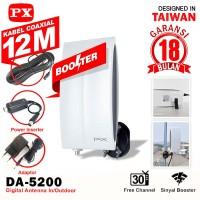 PX Antena TV Digital Indoor DA-5200 Outdoor Antenna DA5200