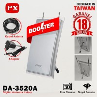 PX Antenna TV Digital Indoor DA-3520A Antena Dalam DA3520A