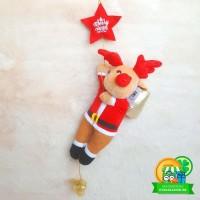 Boneka Gantungan Rusa Natal Christmas Xmas Plunge Star 10 BN004016