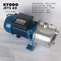 Pompa Air KYODO JET S-60 Pompa Stainless Steel Centriful Booster Pump
