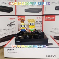 DVR cctv DAHUA 2mp 16CH 1080p Cooper 16 Channel XVR-1B16 16 ch 2 Mp