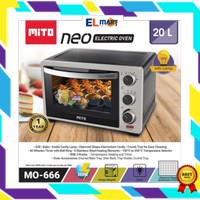 Mito neo electric oven 20L MD 666 / oven pemanggang 20 liter MD666