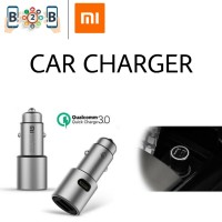 Xiaomi Mi Car Charger Mobil Dual USB Output (Fast Charging) original