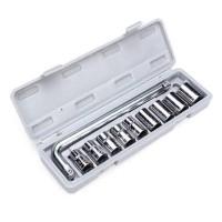 Kunci Shock Sok Set 10 Pcs / Socket Wrench Set