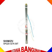 SUBMERSIBLE PUMP POMPA AIR RENDAM SPG20-327K BIT SHIMIZU SATELIT 1HP