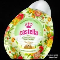 CASTELLA WHITENING BODY LOTION DOMBA AUSTRALIAN MILK & HONEY BPOM