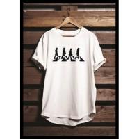 Kaos Custom Tshirt Baju Combed 30S The Beatles Band Distro